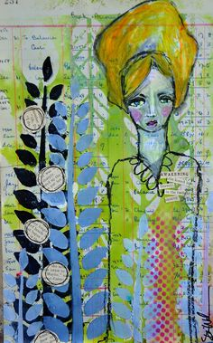 Cutting Stencils by Dina Wakley - Scrapbook.com