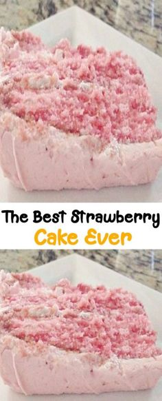 Cupcake Frosting Recipes, Cupcake Cakes, Mini Cakes, Cake Cookies, Cupcakes, Small Desserts, Easy Desserts, Dessert Recipes, Best Ever Strawberry Cake Recipe