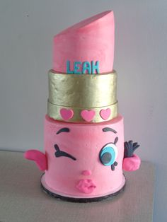 Easy Lippy Lipstick Kins Character Cake How To With The Icing