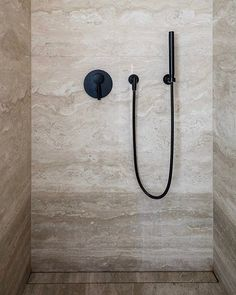 il_granitoBC RESIDENCE Interior by @vandervelpen Photography by @cafeine Natural stone by #IlGranito #Travertine #bathroom #Dornbracht #shower