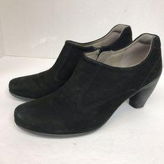 3713860ff55 Ecco Women s Size 41 EU 10 US Sculptured 65 Black Suede Bootie Heel Shoe   fashion  clothing  shoes  accessories  womensshoes  boots (ebay link)
