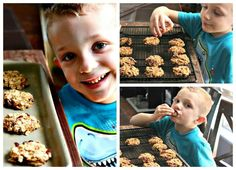 """Healthy Cranberry Oatmeal Breakfast """"Cookies"""" with no butter, oil, eggs, flour, or sugar. Which means - I can approve eating cookies for breakfast."""