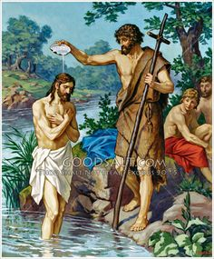 Jesus and John the Baptist Matt Mark Luke