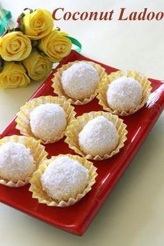 6 Diwali Special recipes: Sweet Indian Recipes for Diwali Indian Desserts, Indian Sweets, Indian Dishes, Coconut Ladoo Recipe, Diwali Special Recipes, Indian Fish Recipes, Coconut Candy, Strawberry Jam Recipe, Sweets Recipes