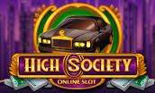 Microgaming released the #HighSociety slot machine recently with flashy features to appear on their online and #mobile gaming platforms at the same time. It has several #unique features as well as a big paying free spins bonus round.  There are 25 paylines for you to play on with #affordable coin values. You can win the maximum jackpot prize of 107,000 on a single spin whenever you play this slot.