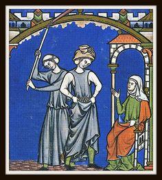 Risultati immagini per bibbia maciejowski