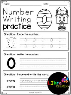 This product will teach your little learner to learn the first step of numbers. They will learn how to trace the number and the word number.  Preschool, Preschool Worksheets, Kindergarten, Kindergarten Worksheets, Number, Number Writing Practice, Number Trace & Color, Number Color & Sort, Number Count & Match, Number Activities, Number Worksheet.
