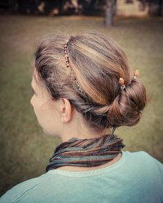 Love this hairstyle | Lilla Rose Hair Sticks and Headband  lillarose.biz/partridge
