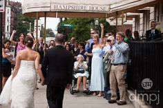 Julia & Scott: Mini wedding celebration -- The Gang's all there!