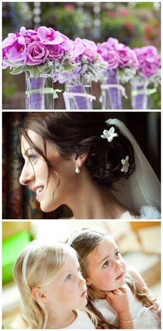 Wired Stephanotis - First Light Wedding Photography