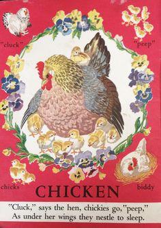 Vintage children's book.
