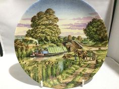 Royal Worcester collectors plate  first issue in the romance