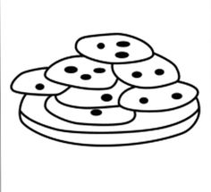 120 Best Cookie Images Coloring Pages Colouring Pages Printable