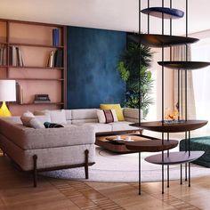 #shstudio_warsaw #ourproject #interiordesign #interiordesigner #livingroom #firepiece #fire #giorgetti #ambience