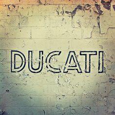 ducati typography