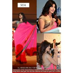 Online Shopping for BOLLYWOOD PRIYANKA CHOPRA DESIGNER  | Designer Collections | Unique Indian Products by SAREEZ HOUSE - MSARE66471512780