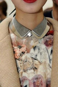 There is something about making a statement with your shirt collar that is somehow extremely powerful.