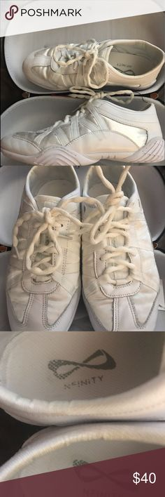a9c9bc9ca1 NFINITY EVOLUTION CHEER SHOES WITH CASE 7.5 VERY GENTLY WORN ONLY ON THE  MAT NFINITY EVOLUTION CHEER SHOES WITH CASE SIZE 7.5! PLEASE ASK ANY  QUESTIONS ...