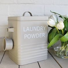 Laundry powder box -