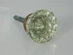1940u0027s Glass Door Knob Architectural Salvage