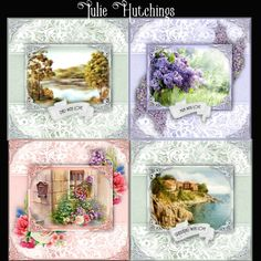 CUP876499_1483 - Wonderful set of card kits suitable for many occasions these are on sale individually on my shop and the numbers are as fol...