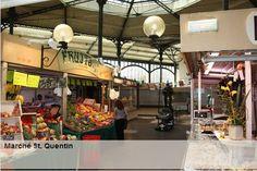 Marché Saint-Quentin à Paris, 85 bis boulevard Magenta 75010 Covered Market