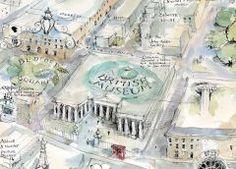 Jonathan Addis' Bloomsbury Bloomsbury, First Night, Maps, Blue Prints, Map, Cards