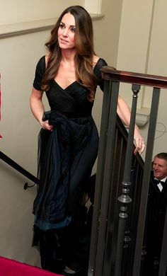 Kate Middleton shows off her svelte shape in a sexy gown for the 100 Women in Hedge Funds Benefit Gala.