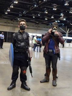 Winter Soldier and Star Lord.