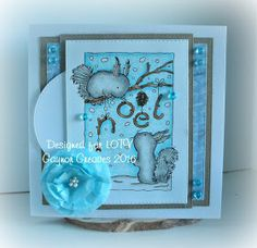 Designs by Gaynor Greaves: Squirrel Noel for LOTV