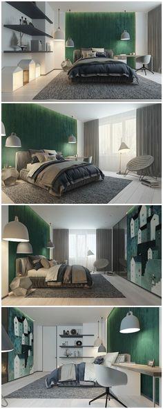 cute and calming kids room | Architect:Kupinskiy & Partners. Visualizer:Elena Sedova