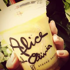 Alice and oliviaとsky highのコラボスムージー♡yam♡ #isetan #tokyo #aliceandolivia #skyhigh   Flickr - Photo Sharing!