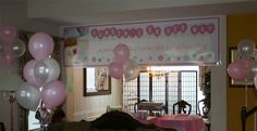 Baby Shower Banners personalized. Very cute from www.bannergrams.com