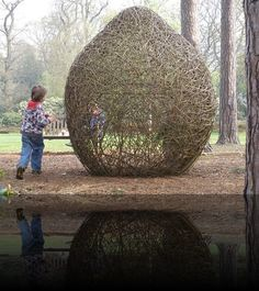 RHS Wisley: Willow Sculpture Gallery