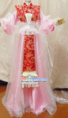 Cổ Imperial Palace Trung Quốc Concubine Cosplay Suits Complete Set