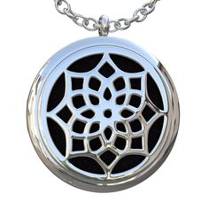 Eco Ultrasonic Diffuser Necklace and Pendant Essential Oil, Surgery Grade, Hypoallergenic Stainless Steel. (24') >> Awesome product. Click the image : essential oils