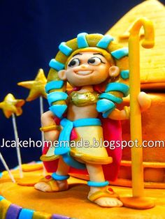Happy 4th bithday Ethan Chua     Thanks May for repeat ordered.     Hand made ancient egypt   Egypt Prince ,King of ancient,...