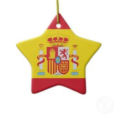 Shop Spain Ceramic Ornament created by flagshirts. Christmas Party Themes, Holiday Decor, Christmas Tree Ornaments, Christmas Time, What A Girl Wants, Travel Themes, Family Photos, Spain, Holidays