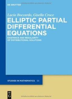 Pin this advances in phase space analysis of partial differential elliptic partial differential equations by lucio boccardo the book is related to genre of mathematics format of book is pdf and size of books is 1 mb a fandeluxe Images