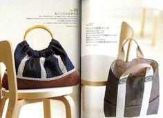 BOLSAS de simple y Liberal KIMONO libro de arte japonés