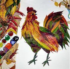 Поделки и игры для детей Autumn Leaves Craft, Autumn Crafts, Autumn Art, Nature Crafts, Fall Crafts For Kids, Toddler Crafts, Art For Kids, Art Floral, Easy Paper Crafts