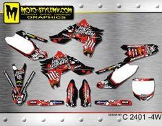 Yamaha YZf 450 '10-'13 graphics decals kits Fox Racing, Yamaha Yzf, Custom Design, Atv, Decals, Graphics, Style Inspiration, Motorbikes, Tags
