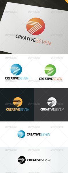 Creative Seven  Logo Design Template Download: http://graphicriver.net/item/creative-seven-logo/5001037?s_rank=129?ref=nexion