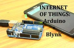 Internet of Things: Arduino + Blynk: Recently there is quite a swing with the term Internet of things. Wouldn't it be nice if you can control your appliances with your smartphone.Lets get started. Useful Arduino Projects, Raspberry Projects, Cell Phone Deals, Rasberry Pi, Hobby Electronics, Big Data, Diy On A Budget, Machine Learning, Facebook Sign Up