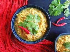 Indický DHAL z červené čočky ... Asijská kuchyně / Ochutnejte svět - blog mezinárodní kuchyně Dhal, Guacamole, Curry, Mexican, Ethnic Recipes, Food, Fine Dining, Curries, Essen
