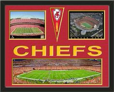 Kansas City Chiefs Arrowhead Stadium Panoramic Framed With Different Views-Awesome & Beautiful-Must For Any Fan! Art and More, Davenport, IA http://www.amazon.com/dp/B00G26D1RK/ref=cm_sw_r_pi_dp_RbCIub1Q5ZGZ8