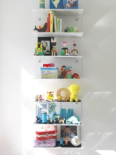 Vipp shelfs in the kids room. See more at vipp.com