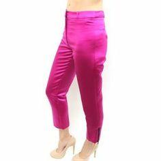 Milly Pants - Milly Fuchsia dress pant slack