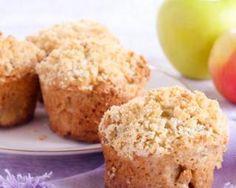 Muffins pommes - noisettes : http://www.fourchette-et-bikini.fr/recettes/recettes-minceur/muffins-pommes-noisettes.html