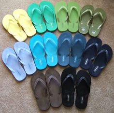 7e570e066 I like how the blue pattern is monochromatic Old Navy Slippers, Old Navy  Flip Flops